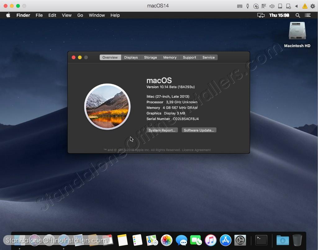 MacOS Mojave 10 14 1 Update Standalone Offline Installer for Mac OS