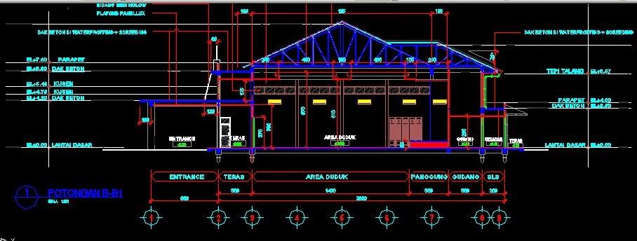 Gambar Desain Rangka Rumah Kayu Info Lowongan Kerja ID