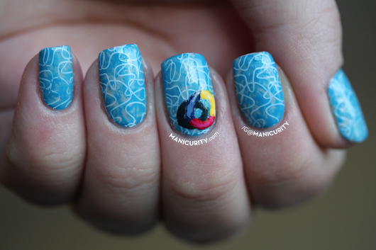 The Digit-al Dozen does SUMMER: Swimming Pool Nail Art