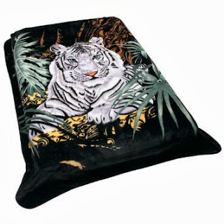 Wyndham House Tiger Blanket