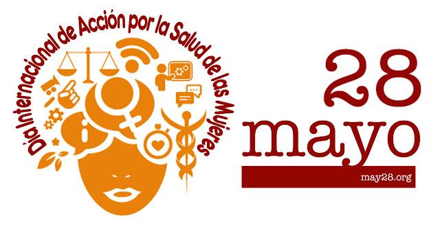 Logo sobre el Día Internacional de Acción por la Salud de las Mujeres