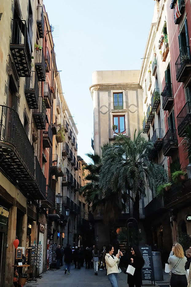 Ces quelques mois à Barcelone