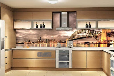 3D backsplash images for modern kitchen
