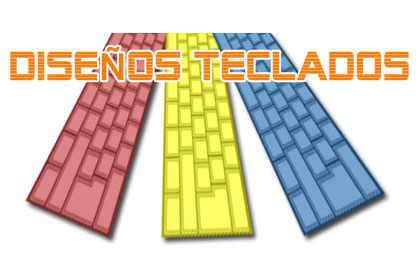 Diseños de teclas para teclados mecánicos