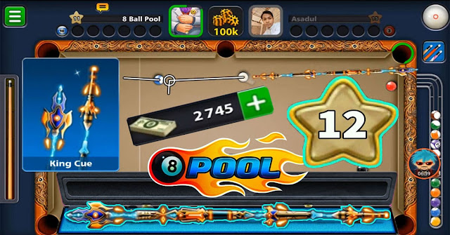 8 ball pool king cue level 11