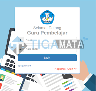 Cek Info GTK Melalui laman SIM PKB