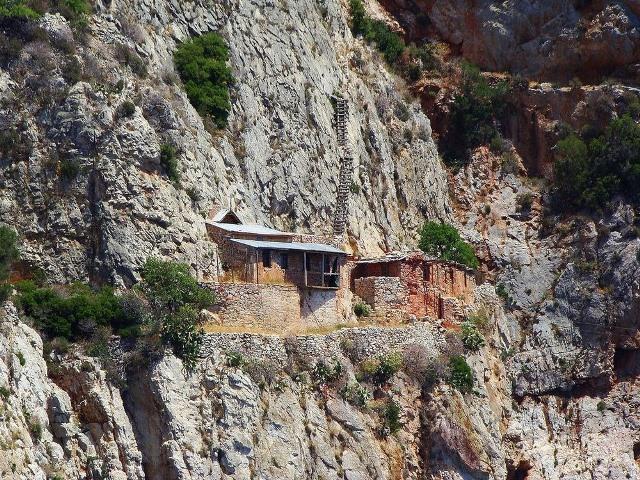 Los ermitaños del monte Athos