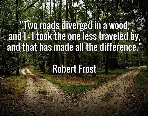 the road less traveled poem robert frost