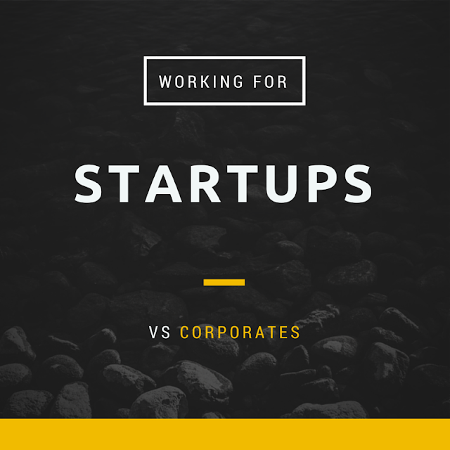 Working For A Startup