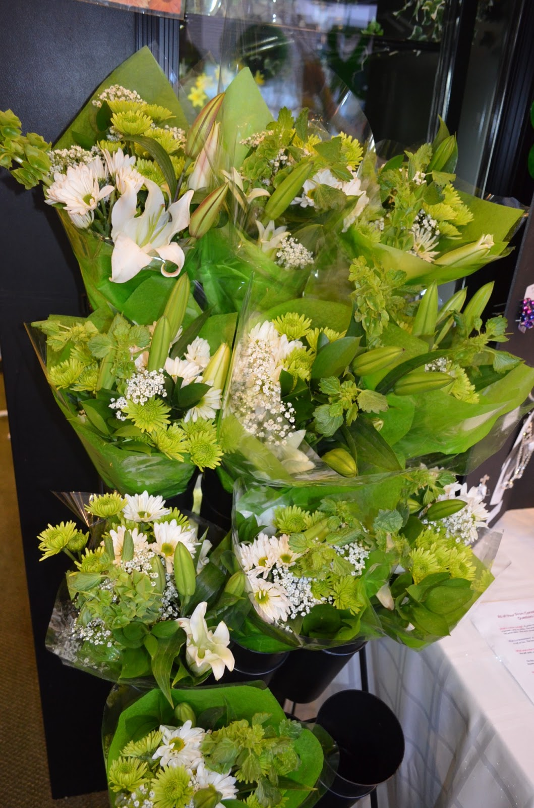 Shamrocks for st patricks day each friday we offer at both stores of course a special flower deal for only 5 last week we had bouquets of iris and dhlflorist Choice Image