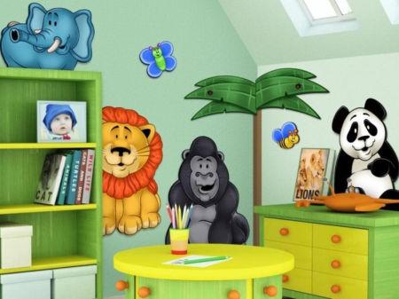 Kinderkamer Ideeen Dieren : Ideeën voor een junglekamer ouders & kind 2019