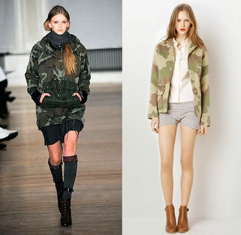 Camo Jacket from Style.com