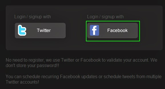 How To Schedule Facebook / Twitter Automatic Status Change