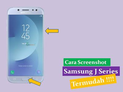 Cara Screenshot Samsung J Series Termudah