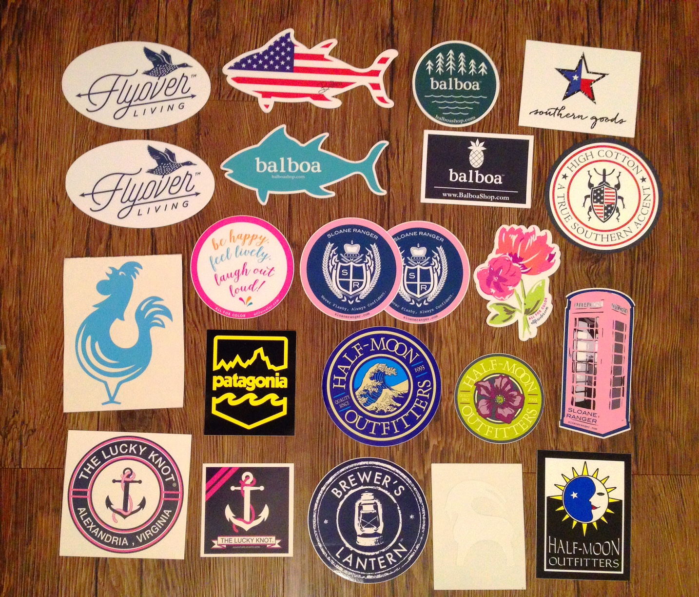 How to get Free Preppy Stickers Part Two