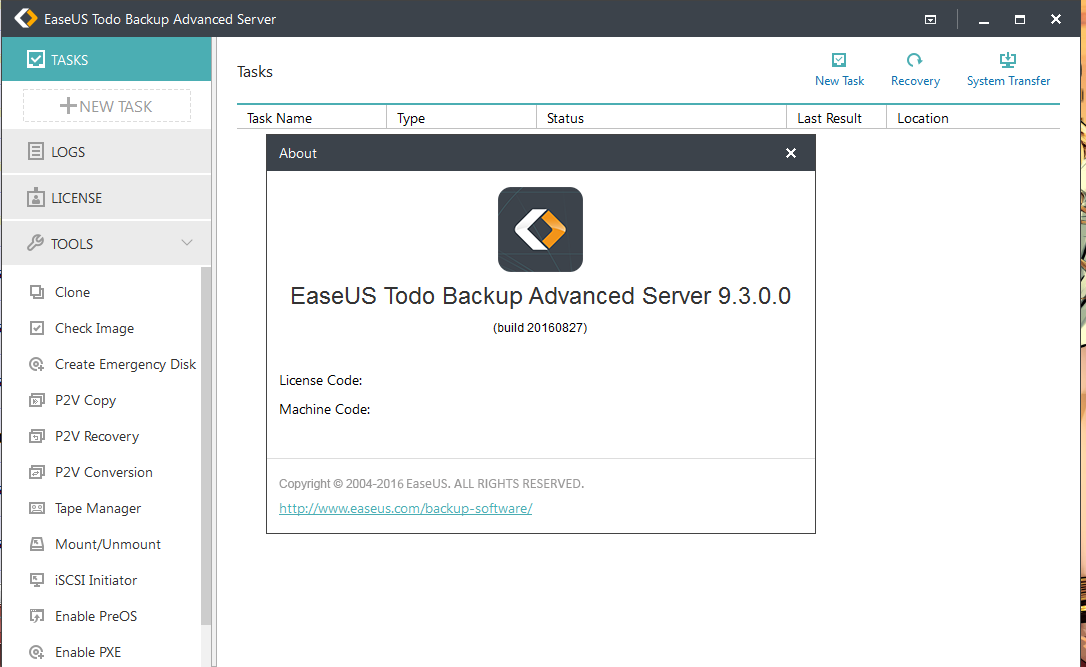 easeus partition master 12.5 activation code