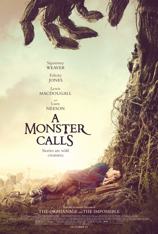 A Monster Calls (BRRip 720p Dual Latino / Ingles) (2016)