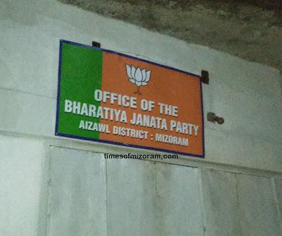 Mizoram BJP Office