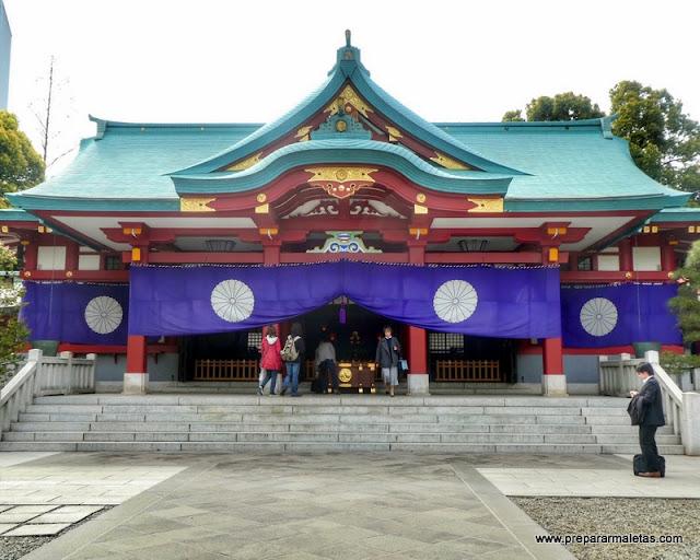 santuarios y templos menos conocidos en Tokio