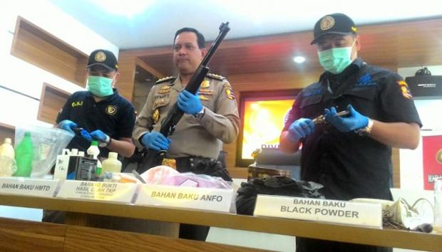 Kekuatan Bom Racikan Rio Priatna Dua Kali Lebih Besar ketimbang Bom Bali