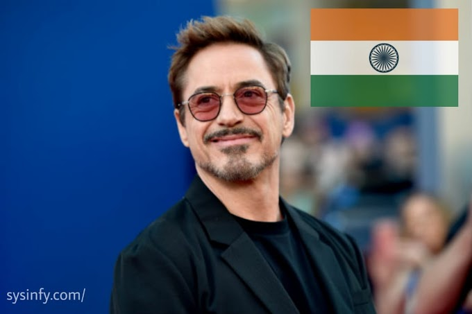 Robert Downey Jr is coming to India!!
