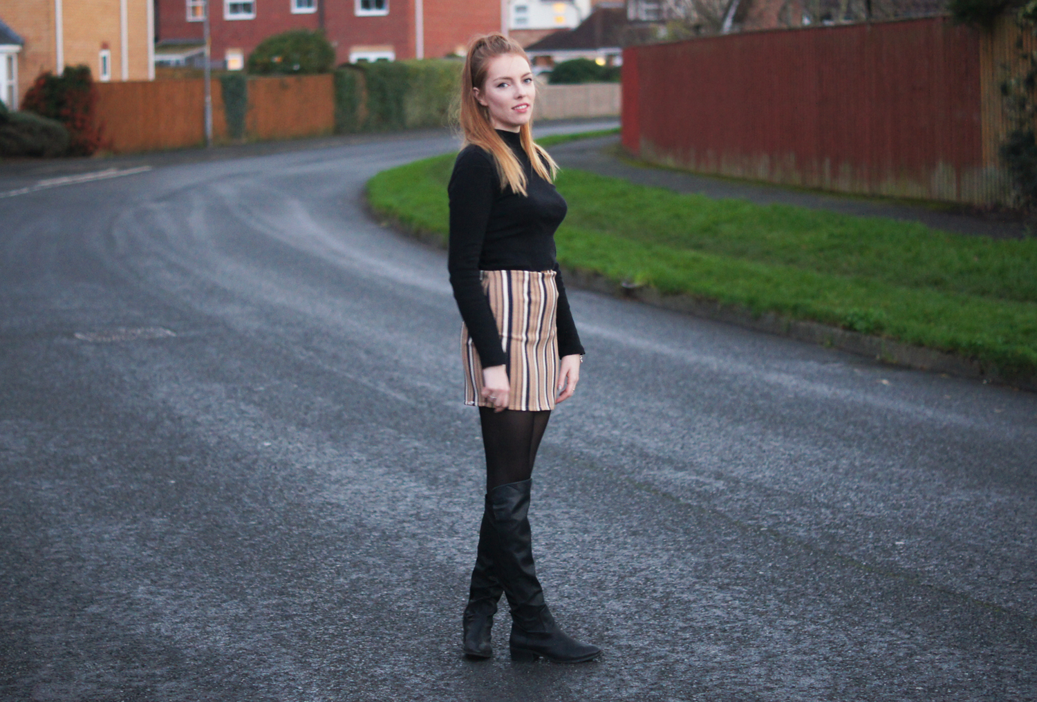 over the knee boots and long boots