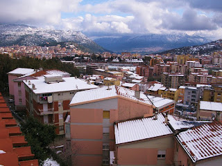 Nuoro is situated in a ruggedly mountainous area