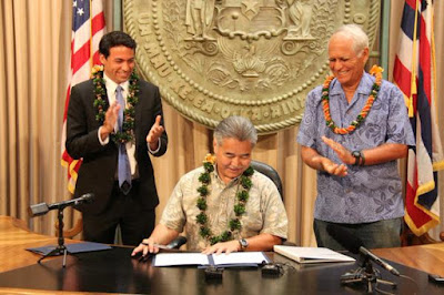 courtesy Hawaii governor's office