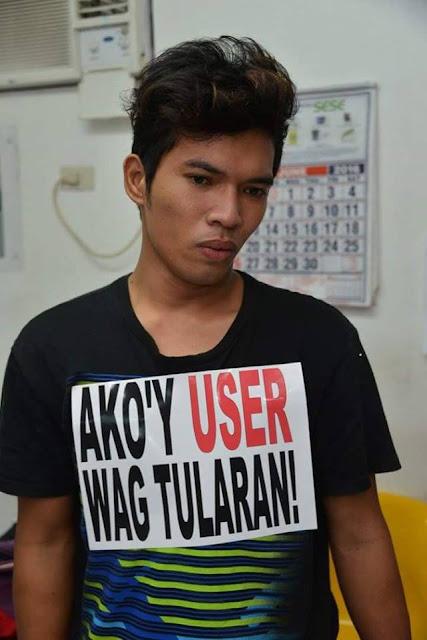 Ipinarada ng taong-bayan ang mga Pusher at User sa Tanuan Batangas