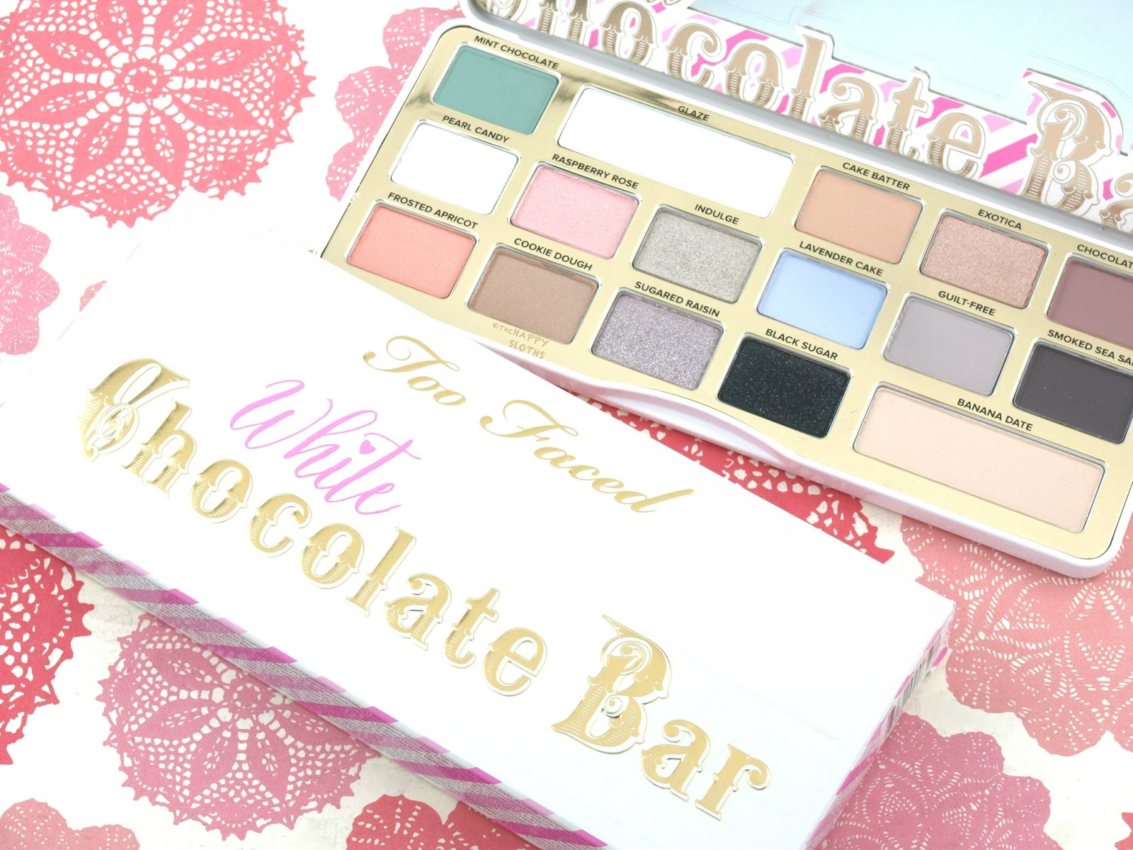 Too Faced White Chocolate Bar Eyeshadow Palette: Review and Swatches