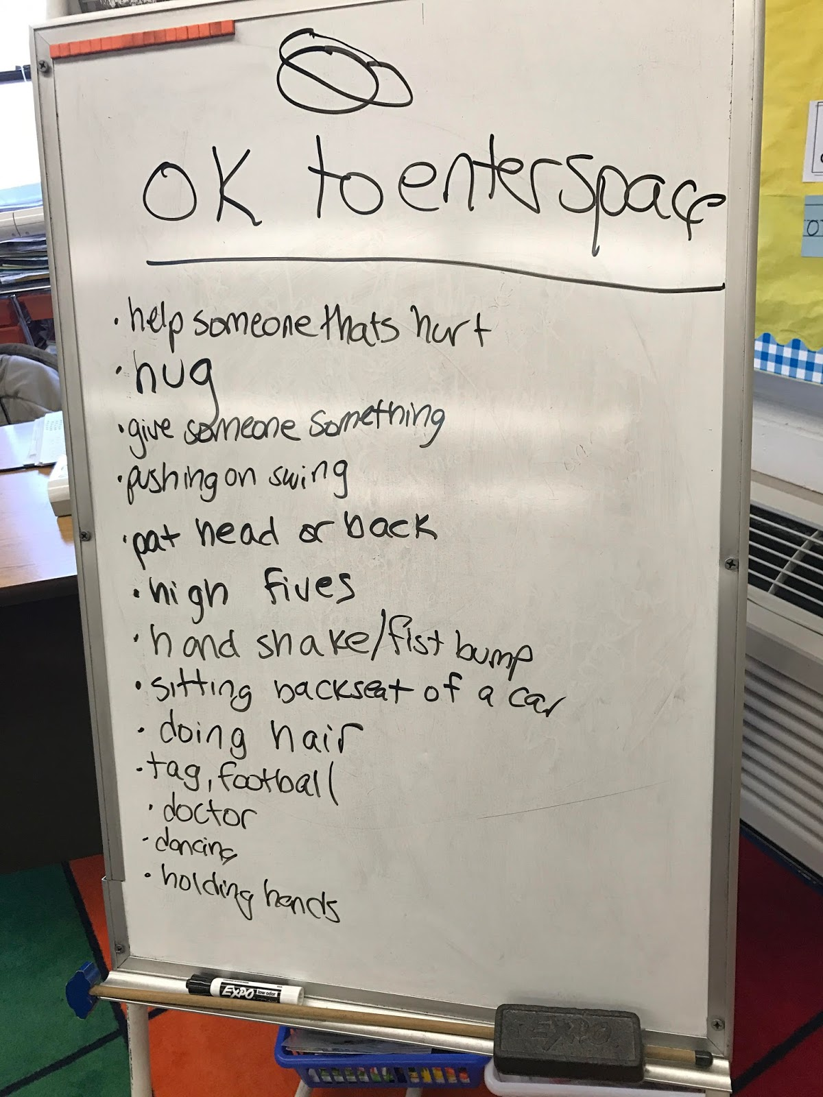 Personal Space Camp - 2nd Grade Lesson - The Responsive