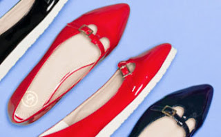 Fashion wanita sepatu flat shoes