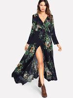 http://fr.shein.com/Tassel-Tied-Shirred-Waist-Button-Front-Dress-p-411467-cat-1727.html