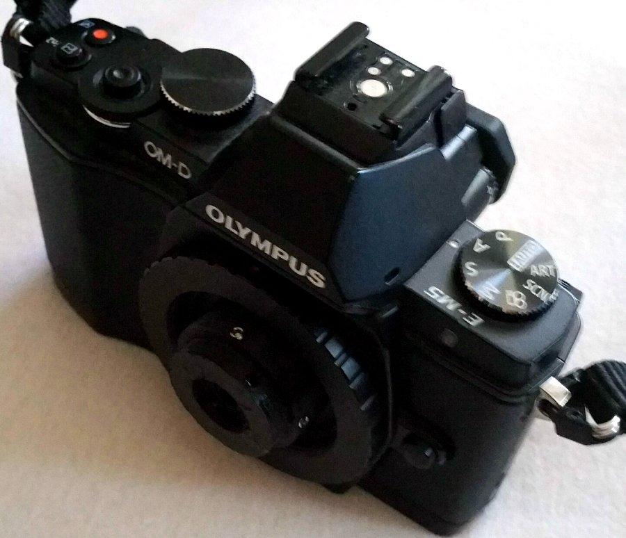 #157 Color-Agnar f9.5 26mm -DIY- Objektiv aus einer RitschRatsch Kamera adaptiert
