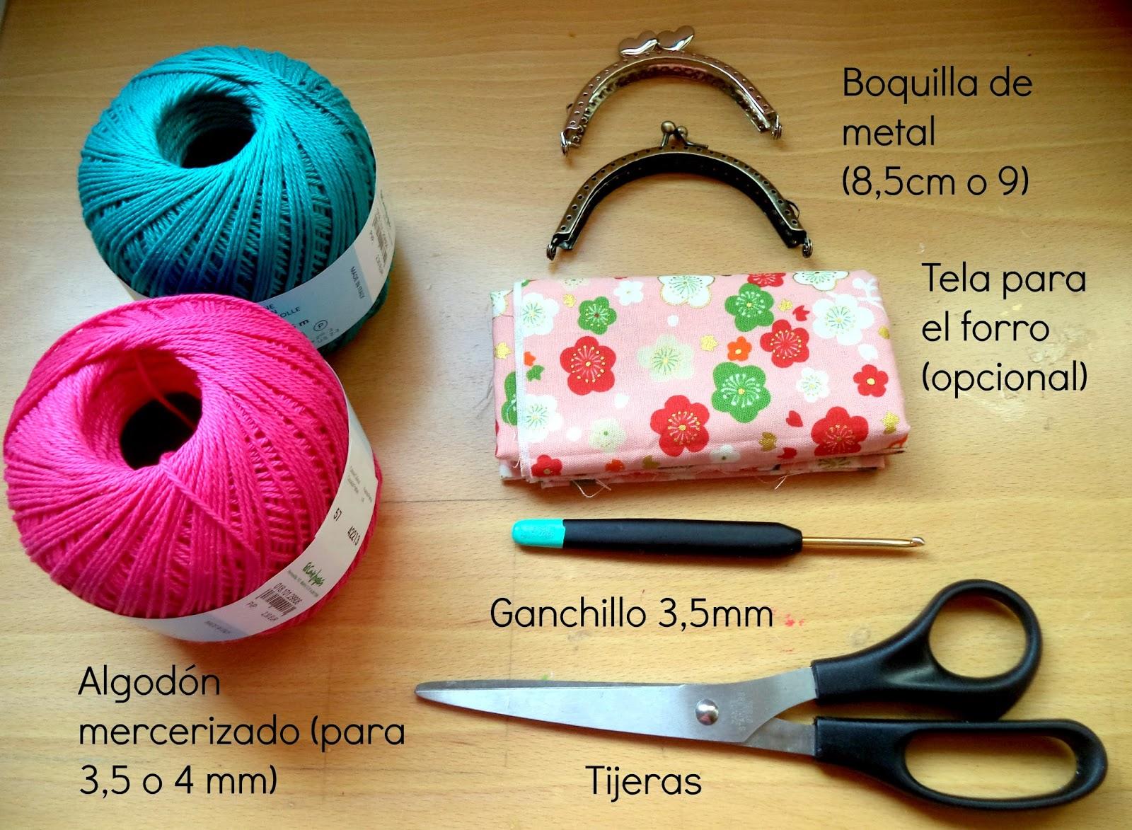 Happy Ganchillo Monedero De Ganchillo Con Boquilla Redonda - Monedero-crochet-patron