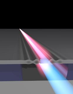 L'embut de Bowtie per utlitzar la llum en comptes de l'electricitat en els ordinadors