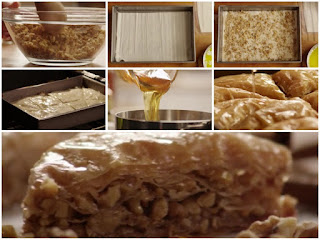 The art of making baklava