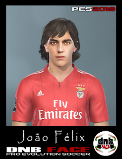 Joao Felix Face For PES 2019 by DNB ~ Game Plus Patch