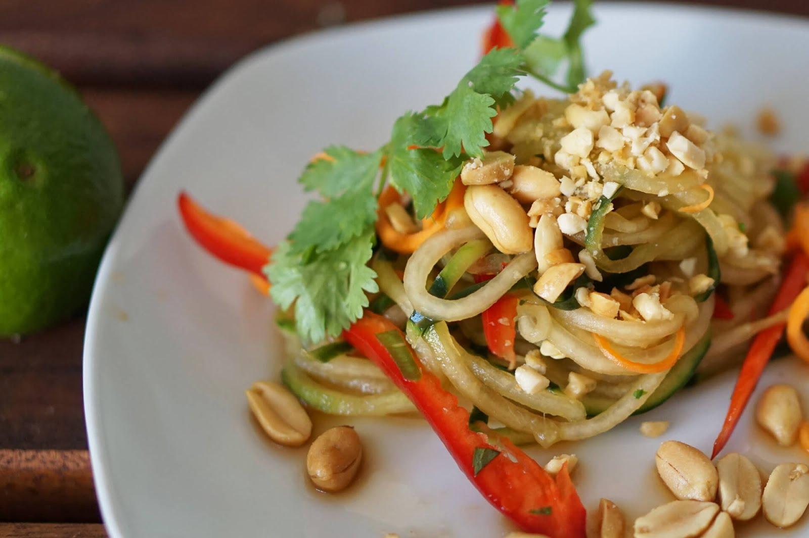 Pad Thai - Salat