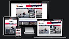 Magma News Responsive Blogger Template • Blogspot Templates 2018