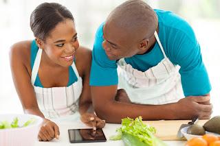 African-American couple maintain colon health