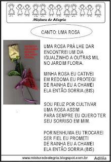 música uma rosa pra lhe dar