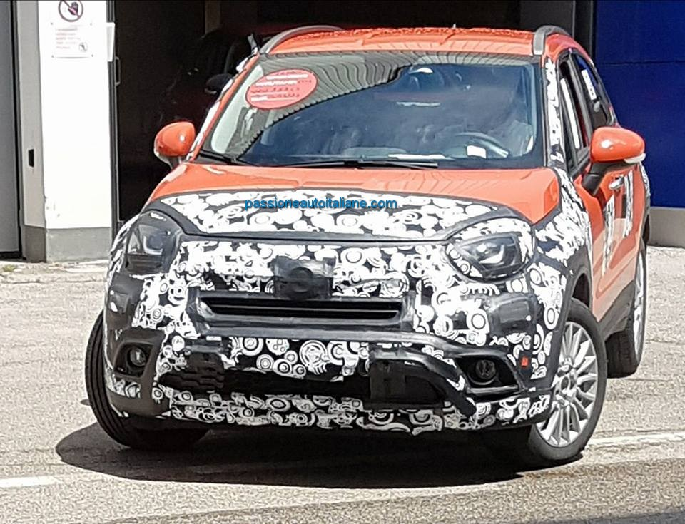 fiat 500x 2019 con mild hybrid abarth 500x in arrivo. Black Bedroom Furniture Sets. Home Design Ideas
