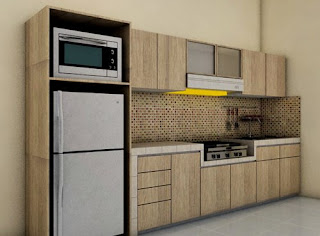 Dekorasi Dapur Sederhana