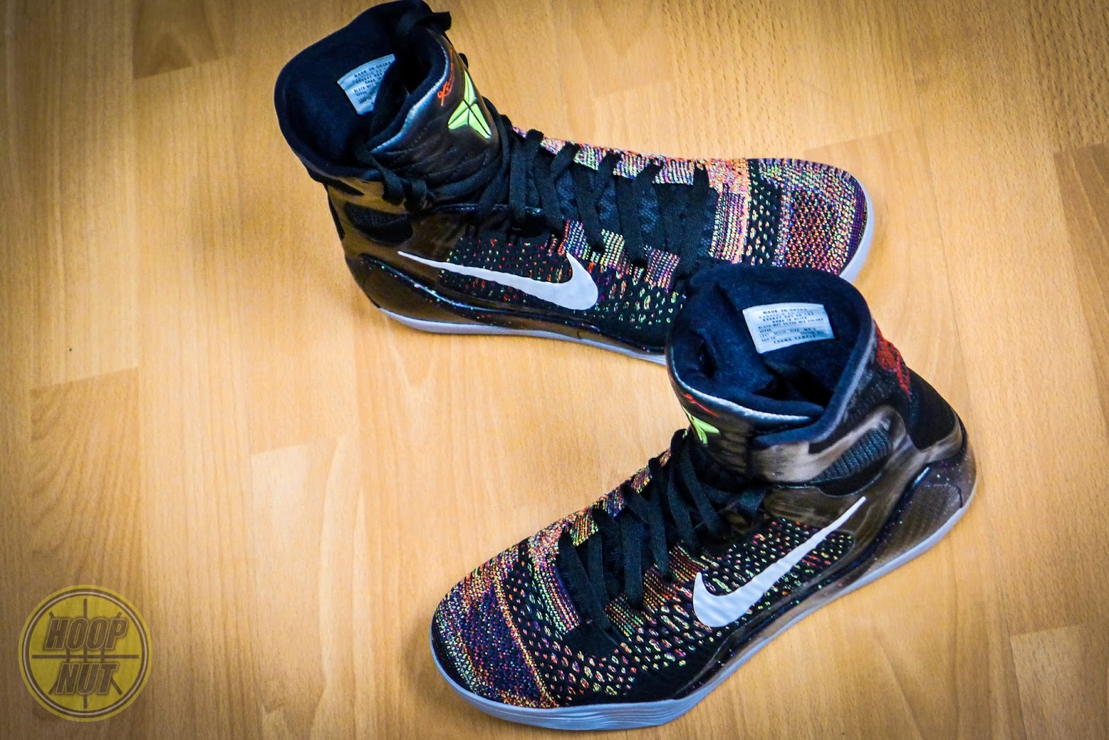 fcbbbb1ab351 The NBA  KOBE 9 Elite featuring Nike Flyknit - Hoop Nut