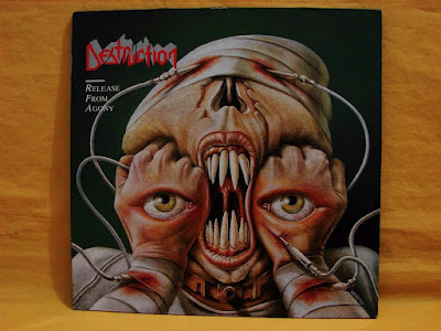 "Destruction ""Release From Agony"" Steamhammer (1987)"