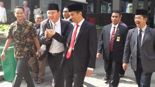 Soal Berita 'Ahok Gantikan Ma'ruf?', Jokowi: Tak Mungkin, Jangan Fitnah