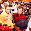 Walikota Danny Dapat Pujian Dari Menteri Sosial Khofifah