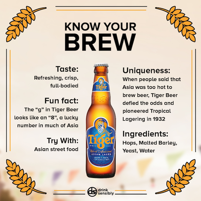 Tiger, know your brew!