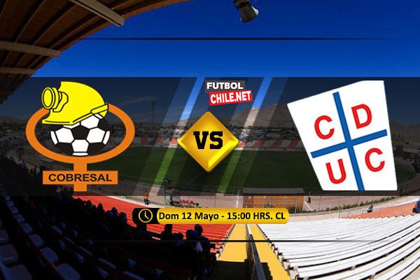 Mira Cobresal vs Universidad Católica en vivo y online por la Primera División